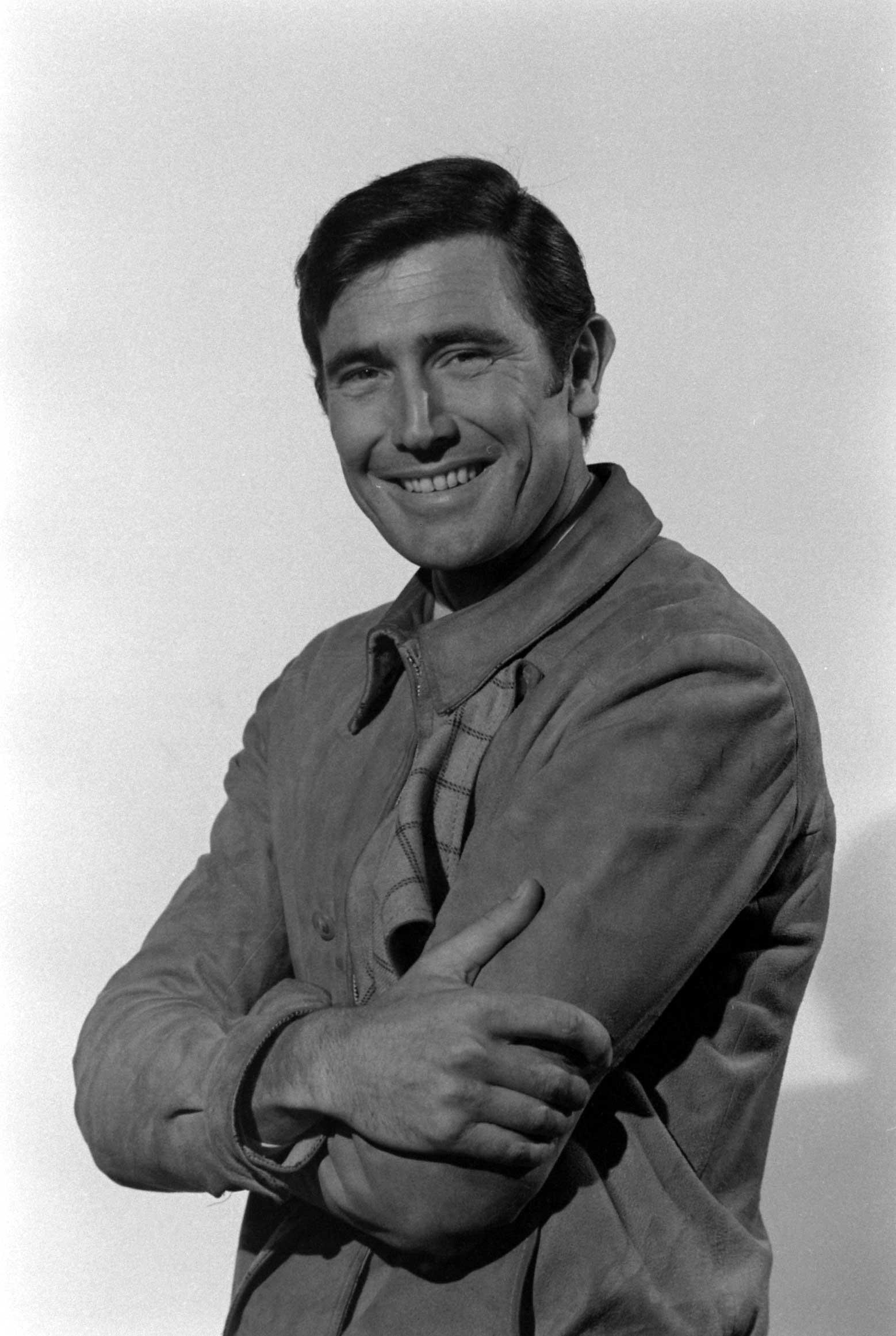 George Lazenby during James Bond audition, 1967.