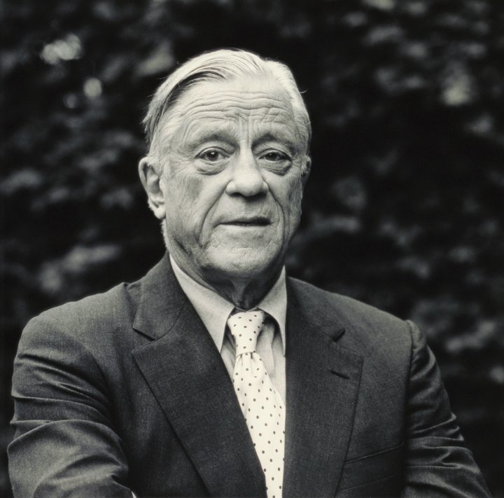 Ben Bradlee on Oct. 1, 1995.