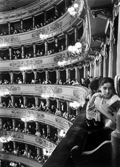 La Scala, Milan, 1934.