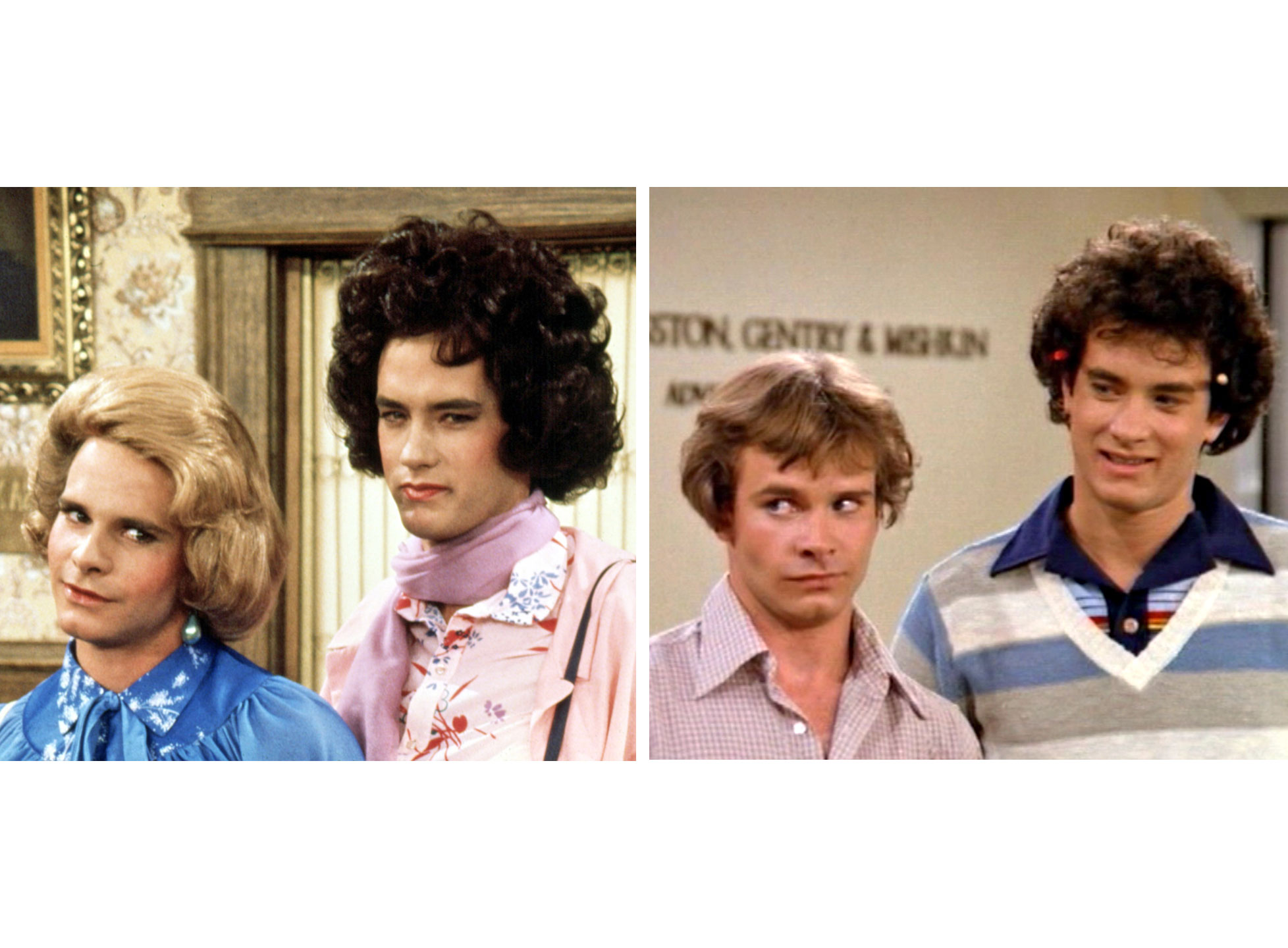 Tom Hanks as Buffy in  Bosom Buddies