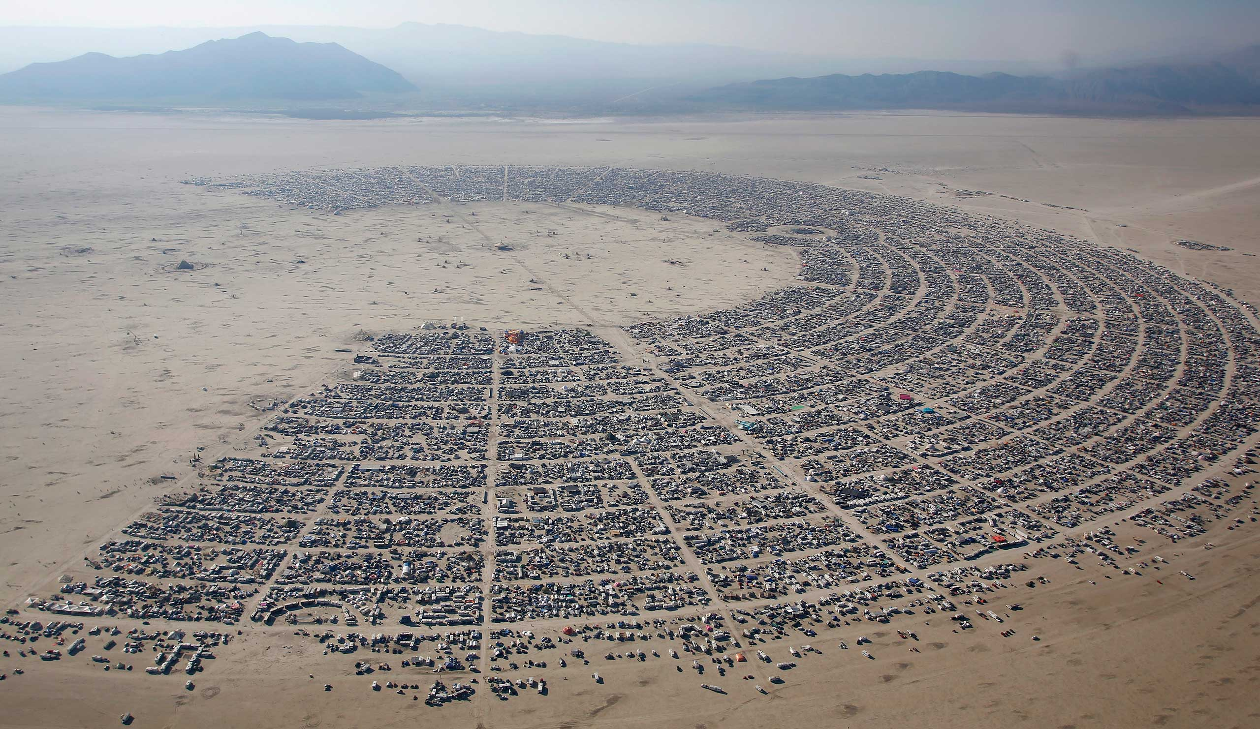 "<strong>Larry Page and Sergey Brin</strong>                                                                      Google CEO Larry Page and co-founder Sergey Brin have been attending the Burning Man Arts Festival since the company's early days. There they fund a ""theme camp"" and how exactly the funds are used is left up to participants' imaginations."