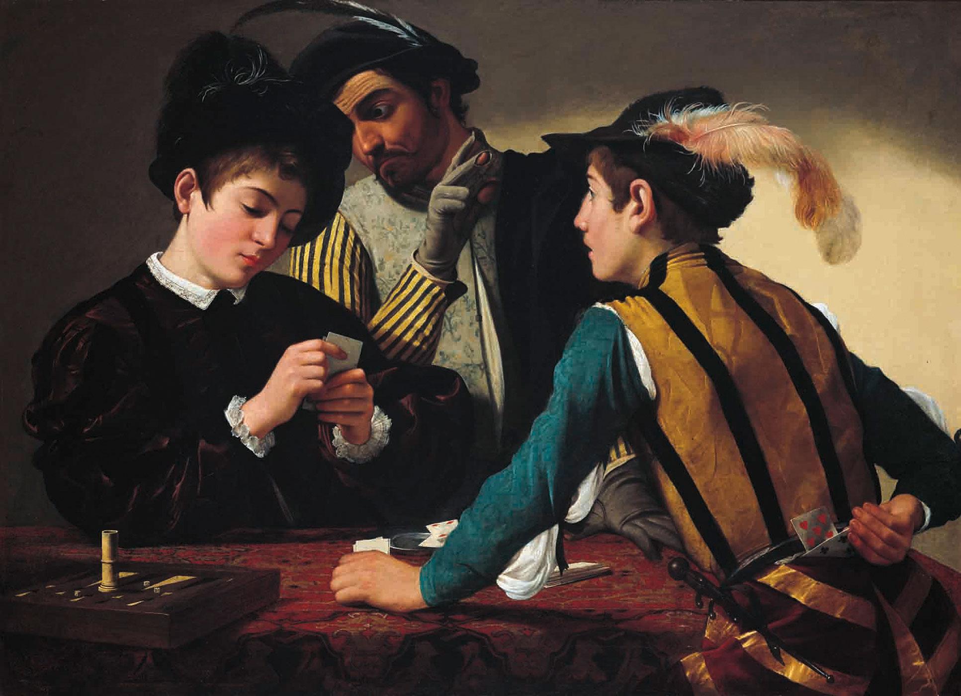 Caravaggio's The Cardsharps