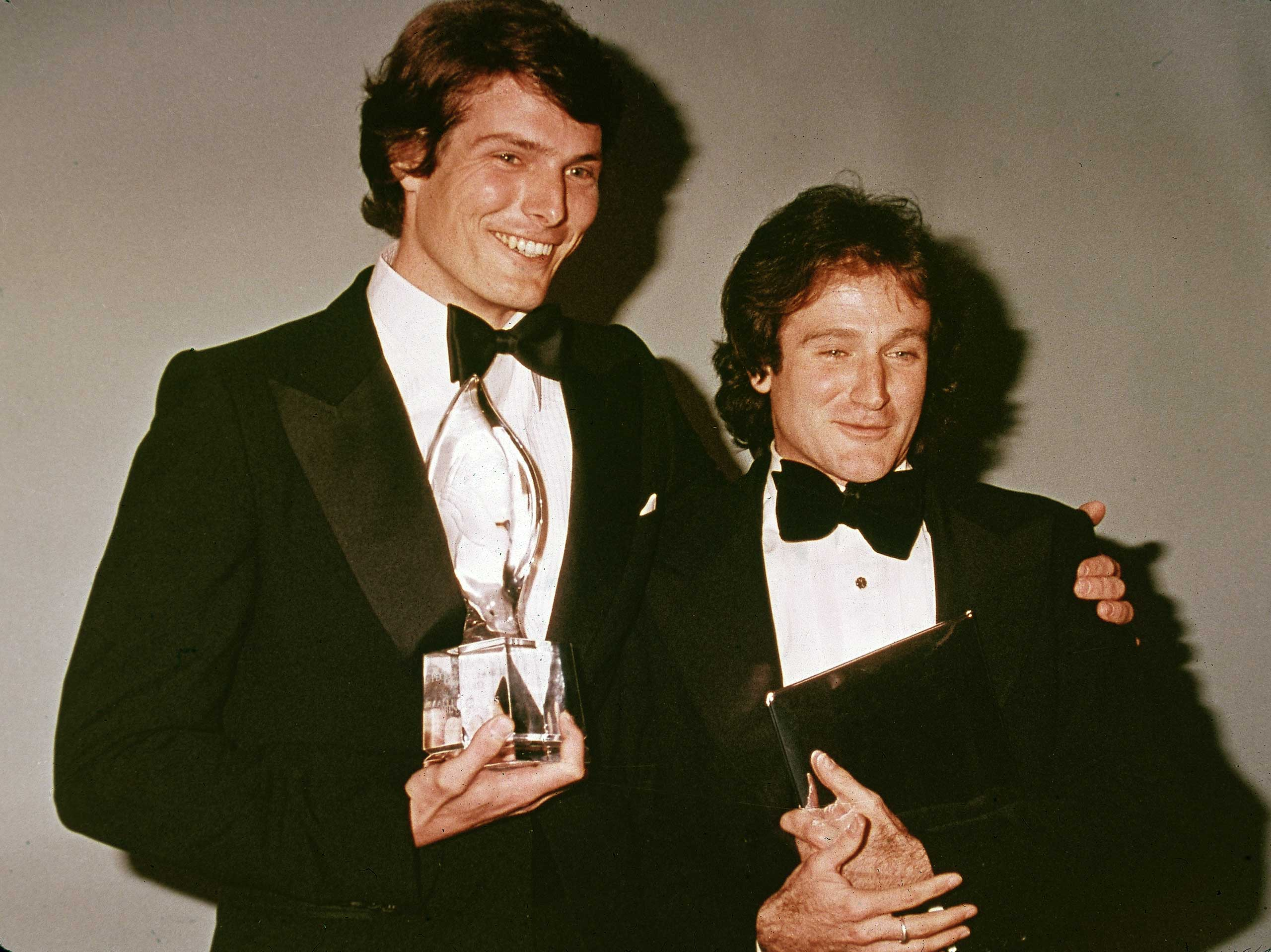 The late, great actors Christopher Reeve and Robin WIlliams met as students at Juilliard.