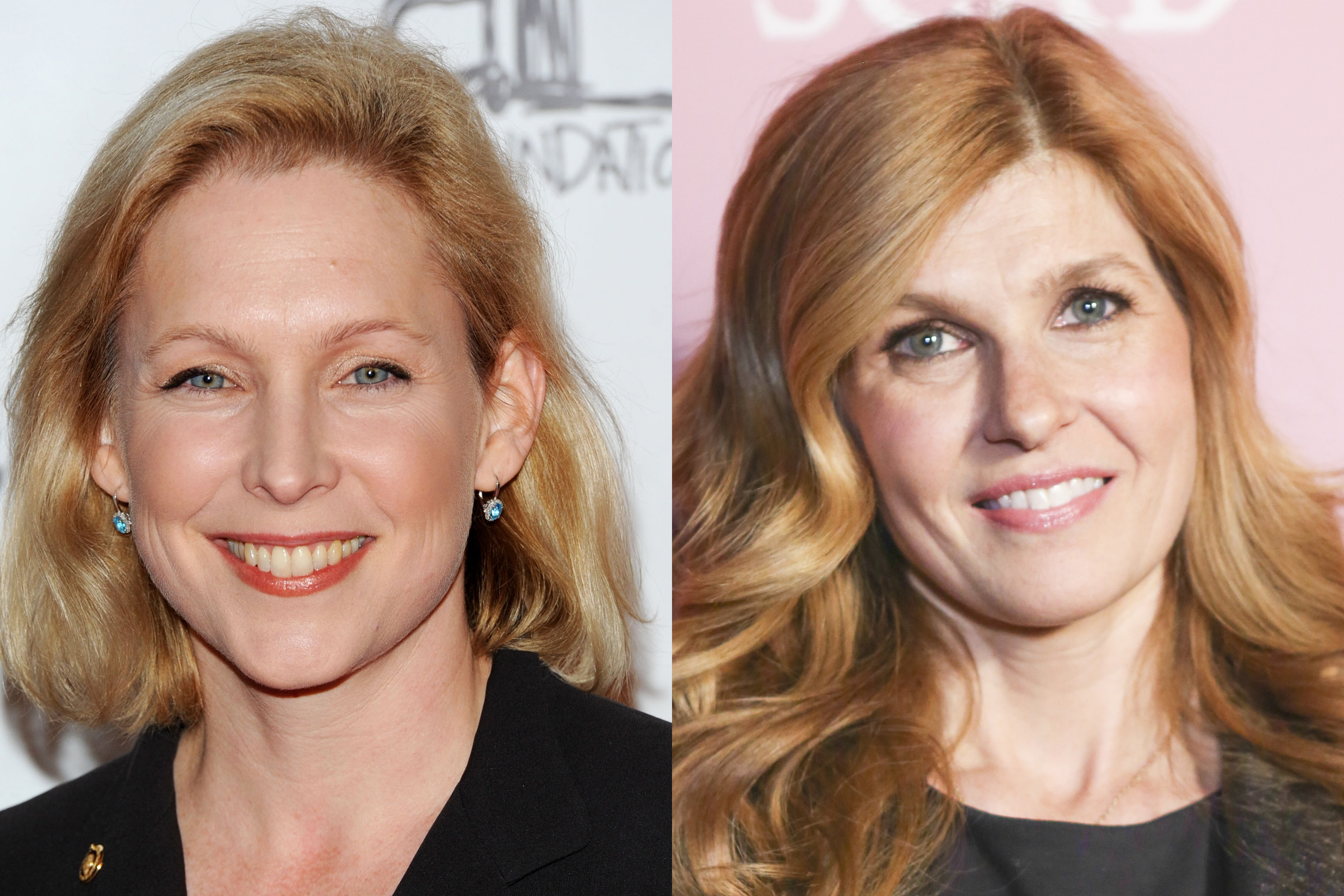 Kirsten Gillibrand and Connie Britton did a summer study program in Beijing together while they were undergrads at Dartmouth.