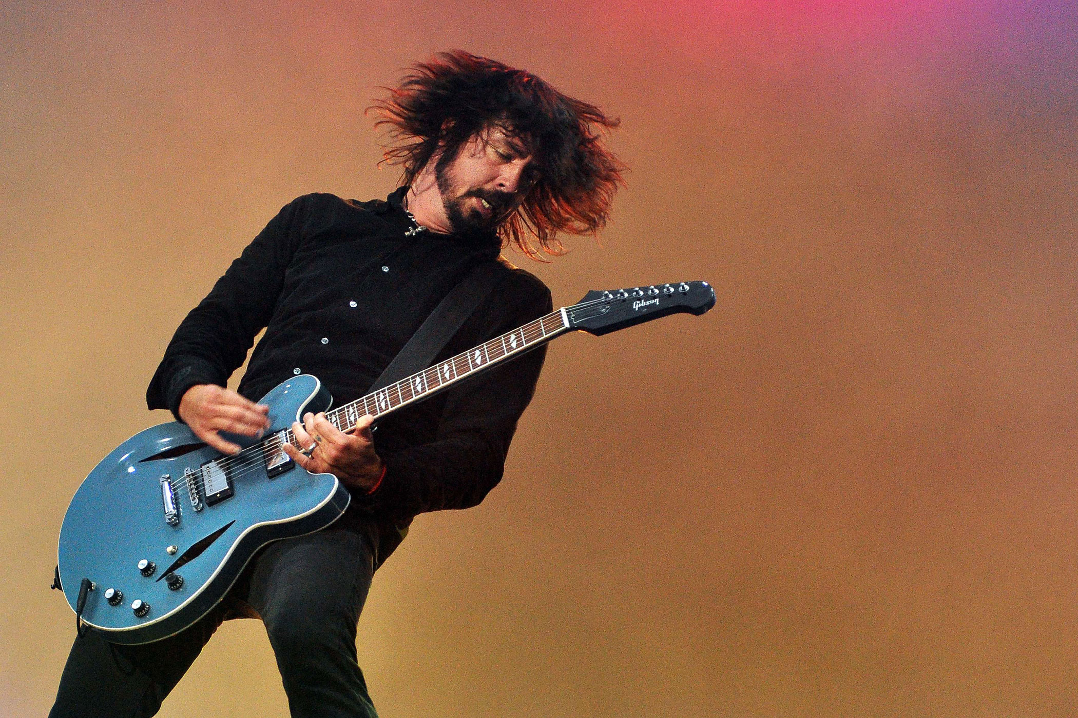 Dave Grohl of the Foo Fighters performs on stage during the third and final day of Pinkpop Festival at Megaland on June 13, 2011 in Landgraaf, Netherlands.
