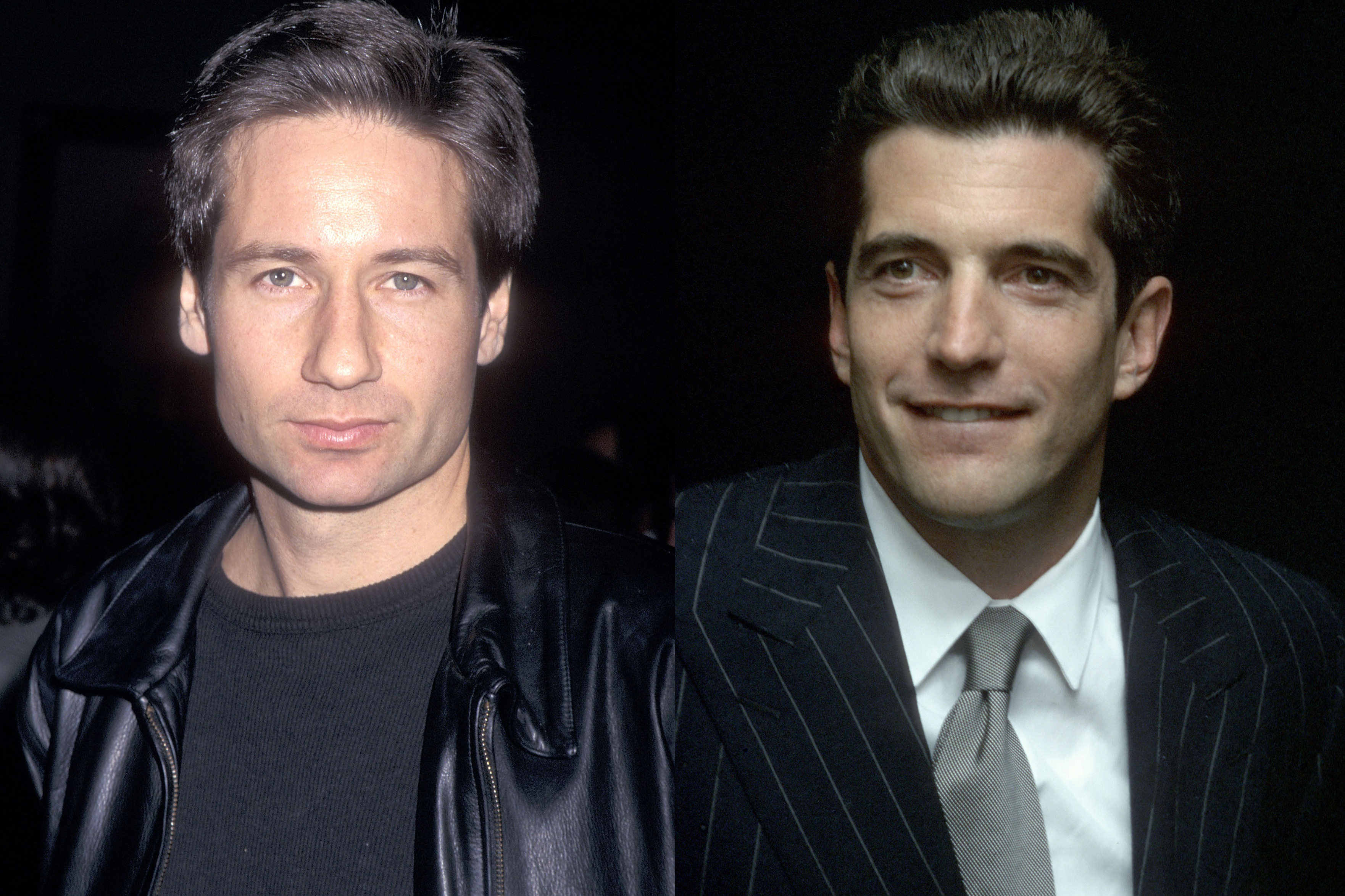 David Duchovny and JFK Jr. went to middle school together in New York City; Duchovny told Howard Stern that the two once roomed together on a class trip.