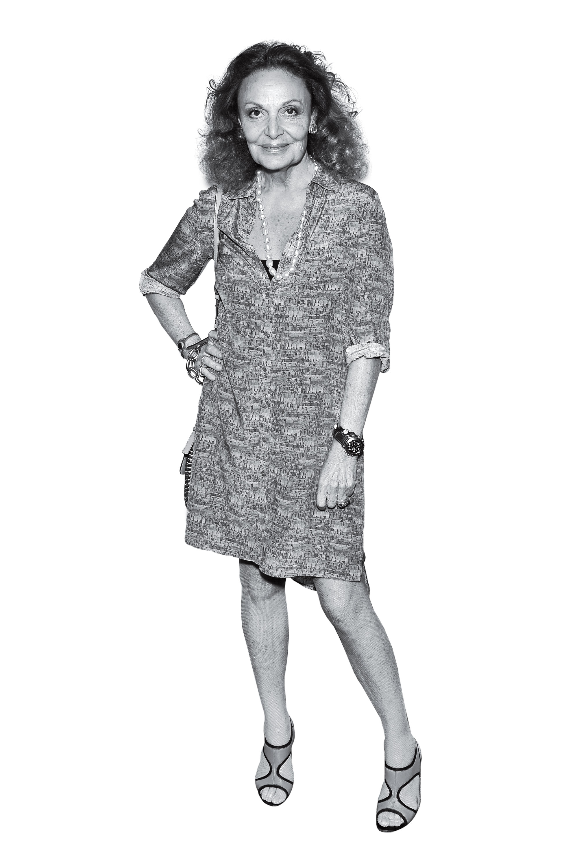 Designer Diane Von Furstenberg
