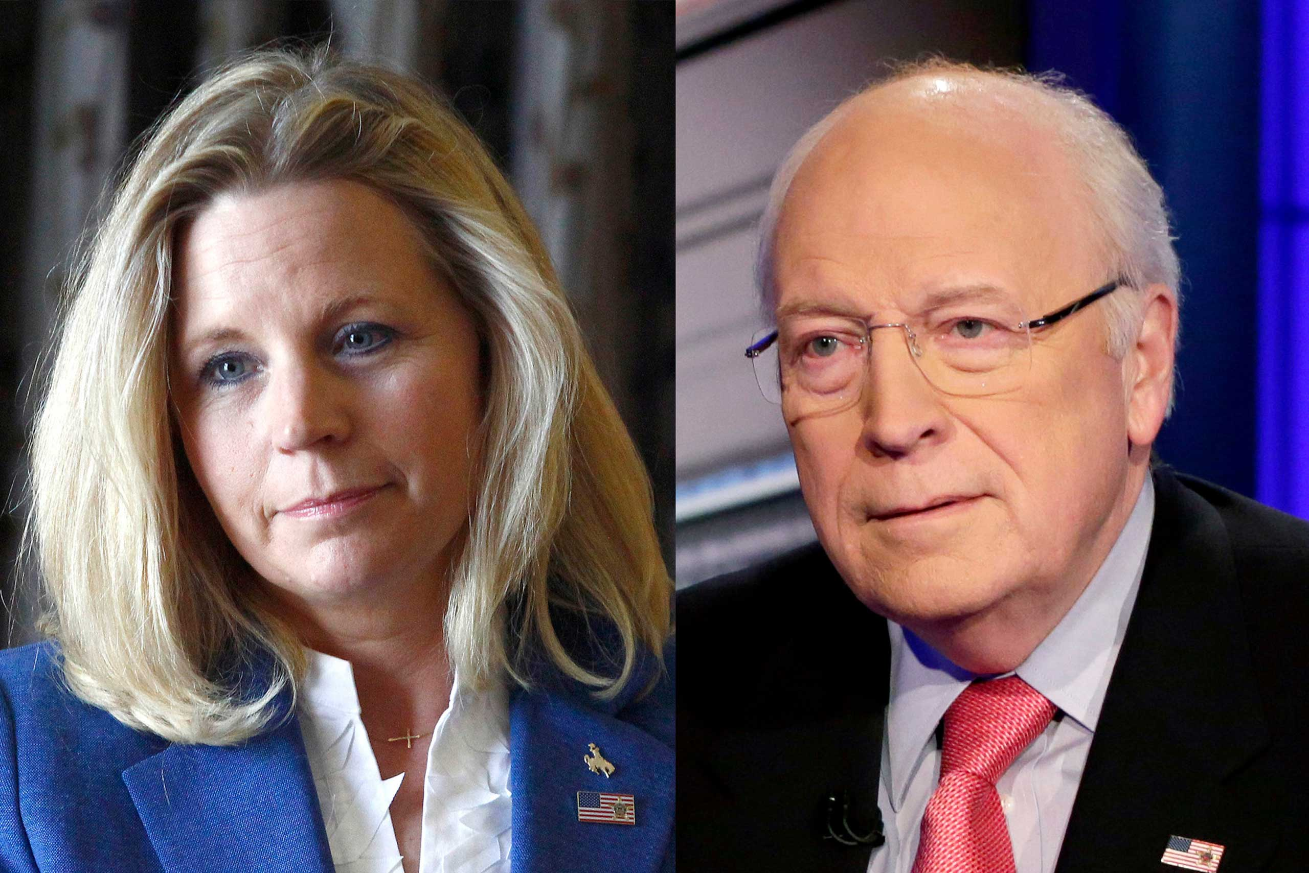 Dick Cheney (right) has served as a congressman, White House aide, Secretary of Defense and unusually powerful Vice President, but he's not the only political force in the family. His daughter Liz Cheney (left) is a conservative commentator and activist who ran unsuccessfully for Senate in 2014.