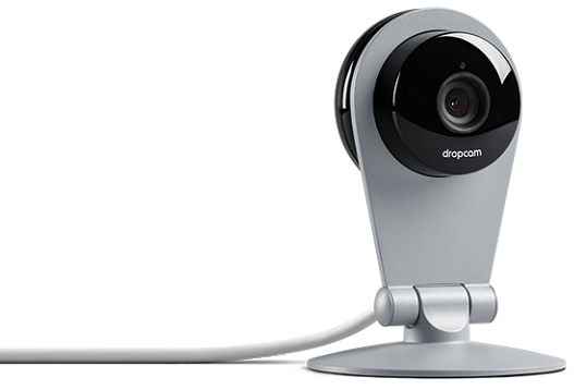 The $149 Dropcam streams live security footage to the web, accessible for free via mobile apps and computers.