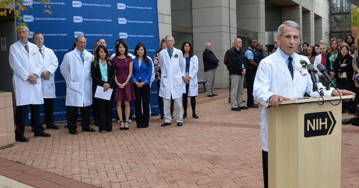 Dr. Fauci: Mandatory Quarantines Aren't Helping Ebola Fight