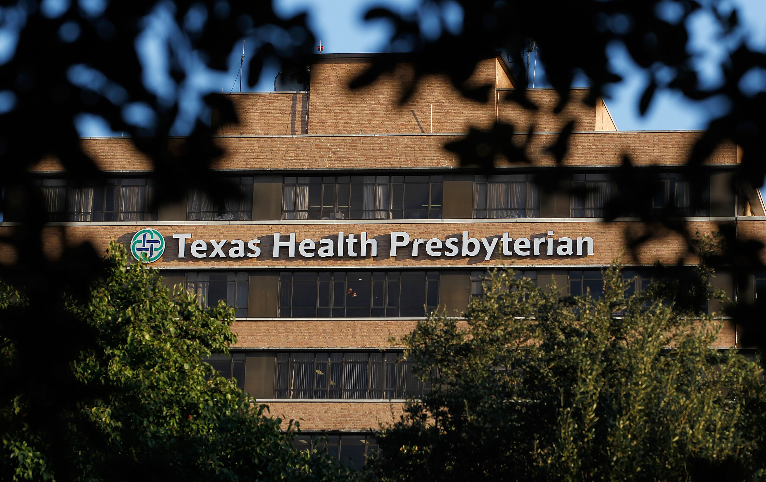 A general view of Texas Health Presbyterian Hospital Dallas where a patient has been diagnosed with the Ebola virus on Sept. 30, 2014 in Dallas.