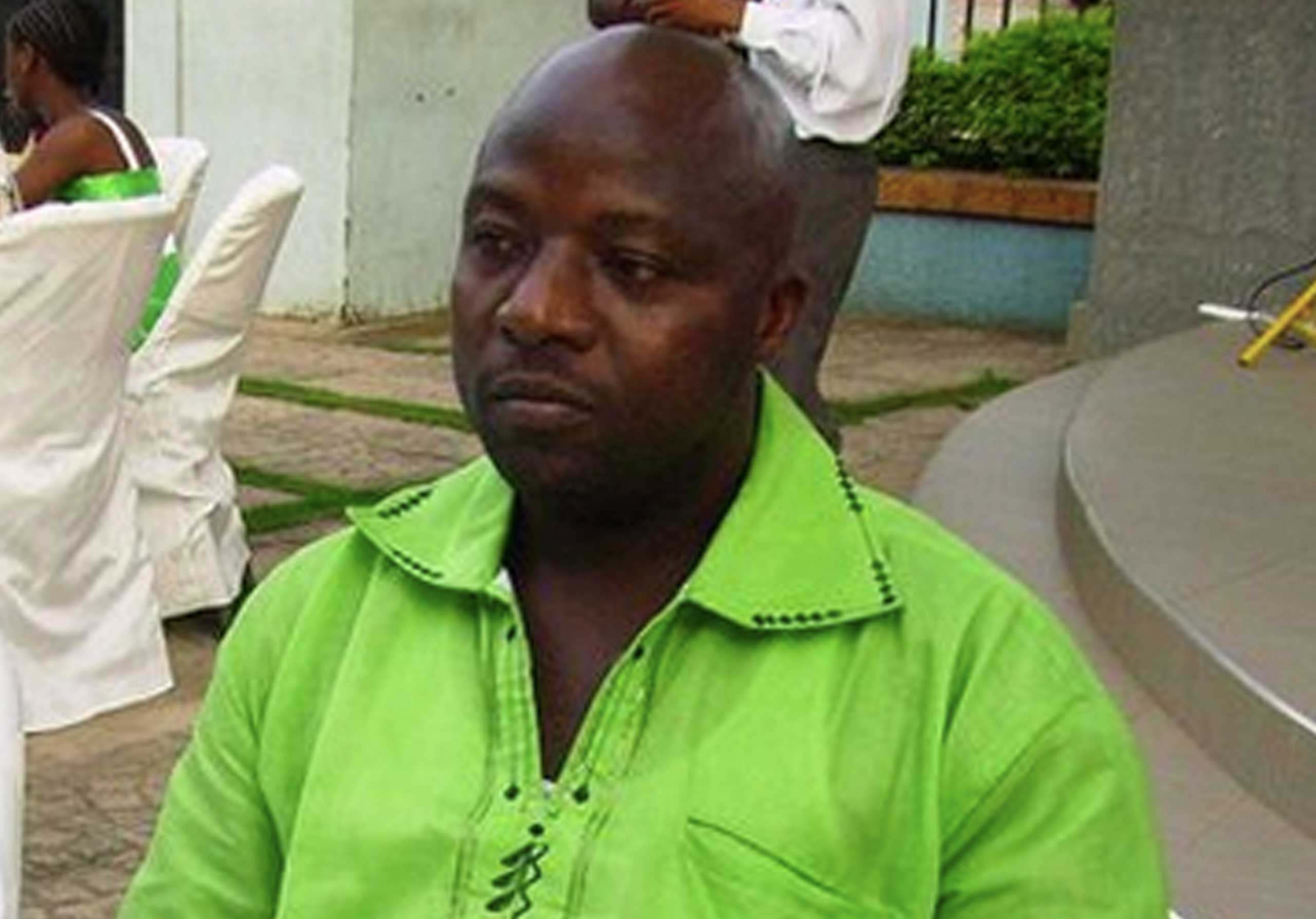 Thomas Eric Duncan, the first Ebola patient diagnosed in the U.S., at a wedding in Ghana in 2011.