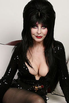 HOLLYWOOD - OCTOBER 02:  TV personality Elvira poses for a portrait during the 2007 Fox Reality Channel Really Awards held at Boulevard 3 on October 2, 2007 in Hollywood, California.  (Photo by Alberto Rodriguez/Fox/Getty Images for Fox)