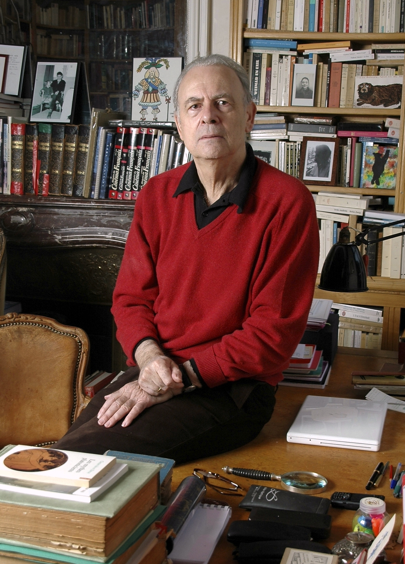 French novelist Patrick Modiano poses for a photograph. Patrick Modiano of France has won the 2014 Nobel Prize for Literature.