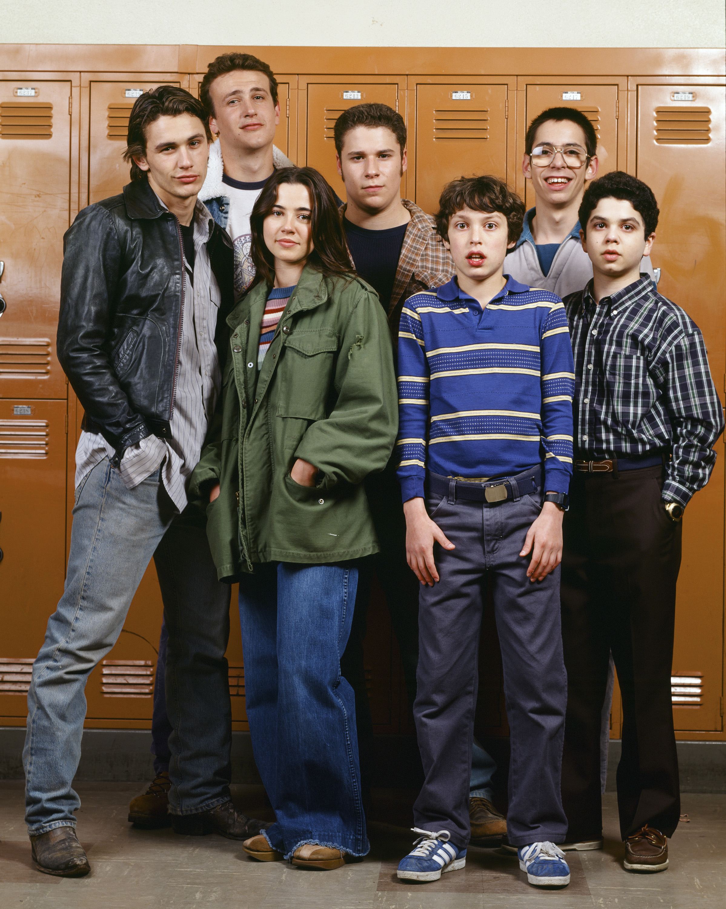 Class of '99: The cast of Freaks and Geeks, one of the first series I reviewed for TIME.