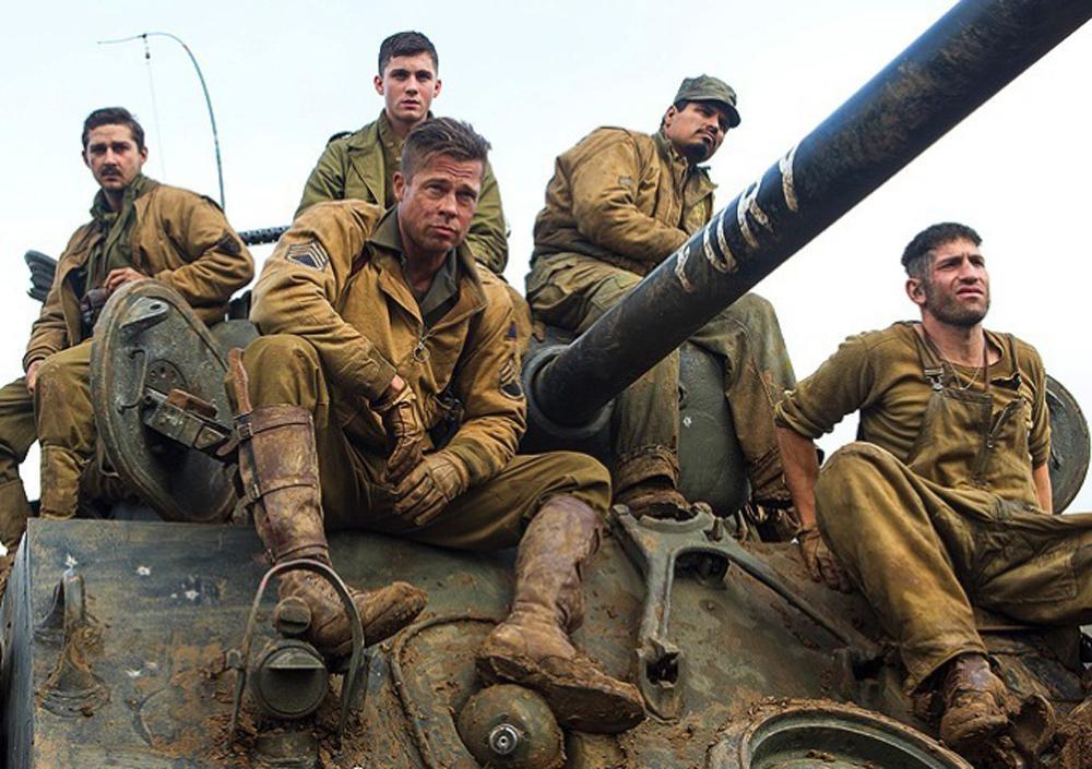 Fury: Top 10 war movies on Netflix