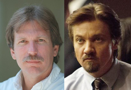 From Left: Late journalist Gary Webb, Actor Jeremy Renner in 'Kill the Messenger'