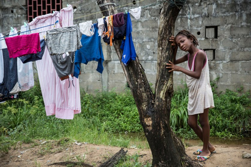 In the community near where Eric Duncan, the first person diagnosed with Ebola in America, lived in Monrovia, Liberia, chaos reigned as children cried and feared they would be taken away as others have been taken before.