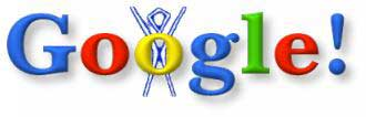 Aug. 30, 1998 When employees left for the Burning Man festival, the Google logo became a cryptic BE BACK LATER sign.  There was no master plan for doodles at that point,  says doodler-in-chief Ryan Germick.