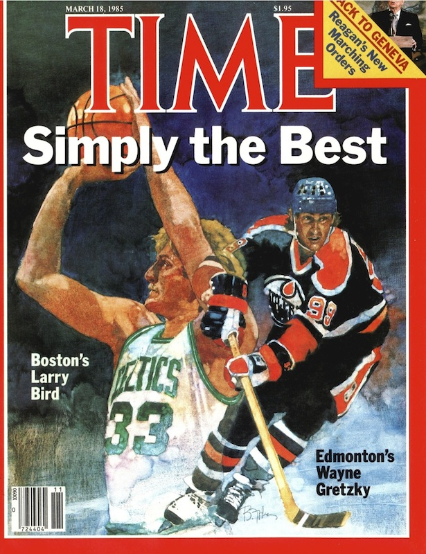 The March 18, 1985, cover of TIME