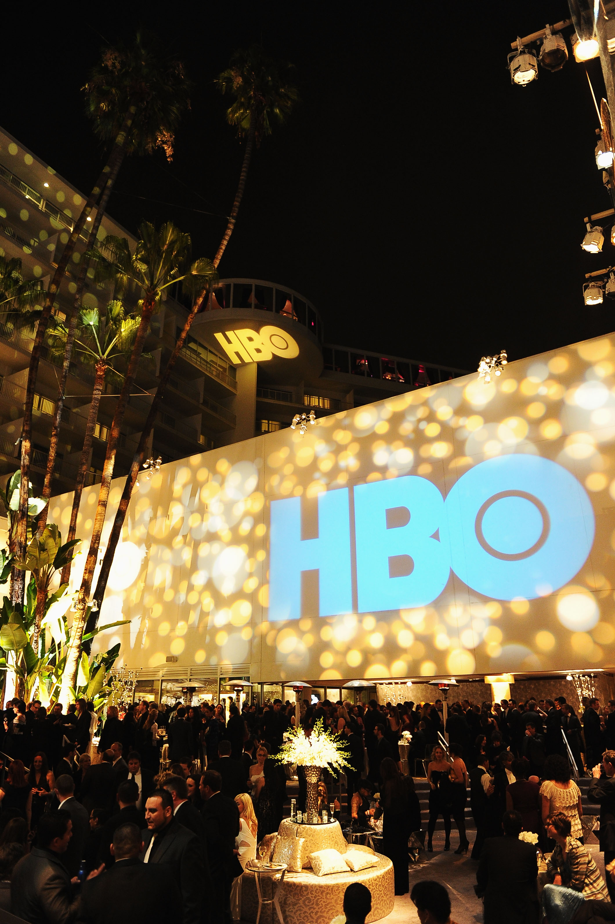 A view of the atmosphere at HBO's Post 2012 Golden Globe Awards Party at Circa 55 Restaurant on Jan. 15, 2012 in Beverly Hills.