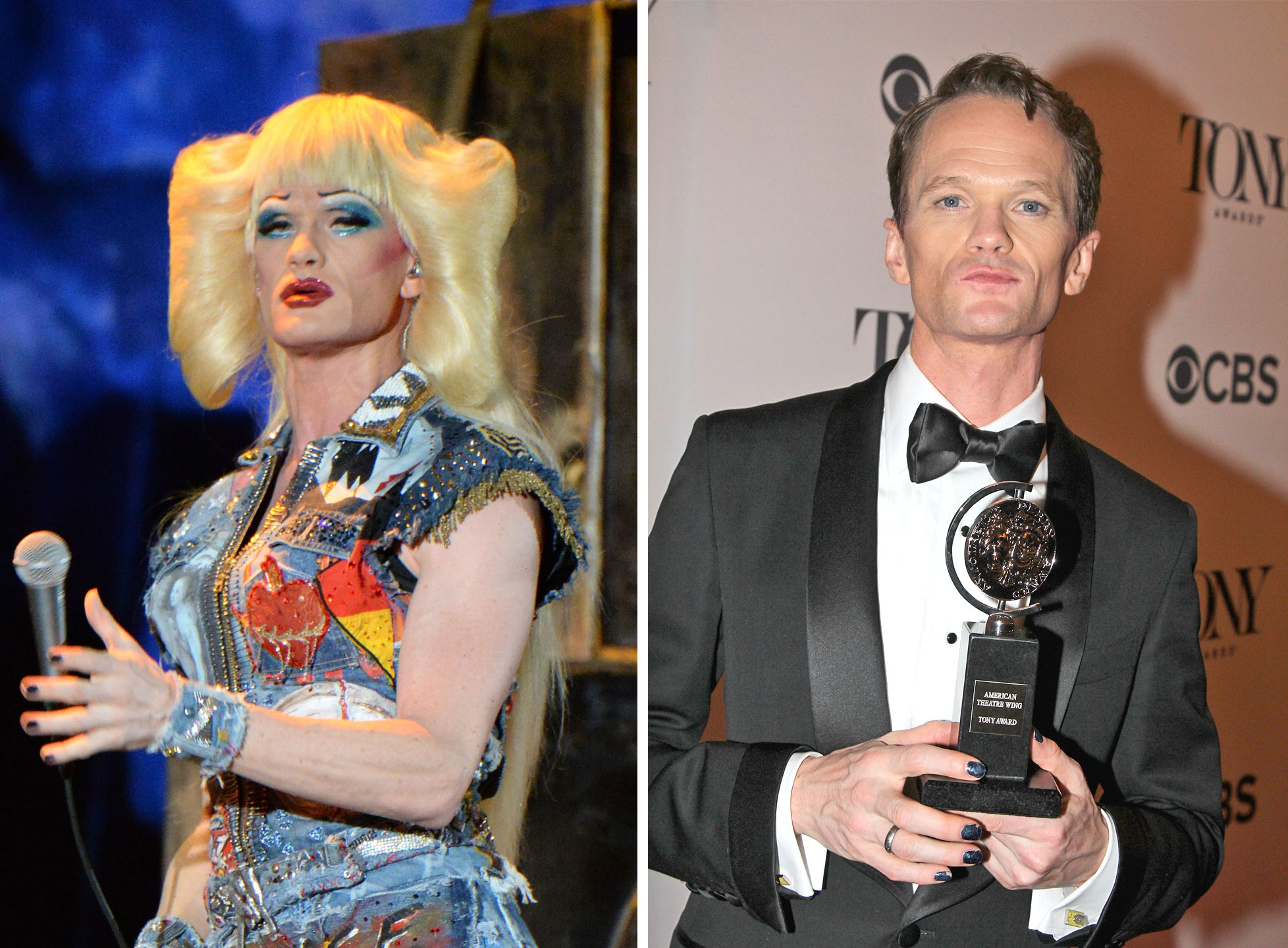 Neil Patrick Harris as Hedwig Robinson in the Broadway adaptation of Hedwig and the Angry Inch