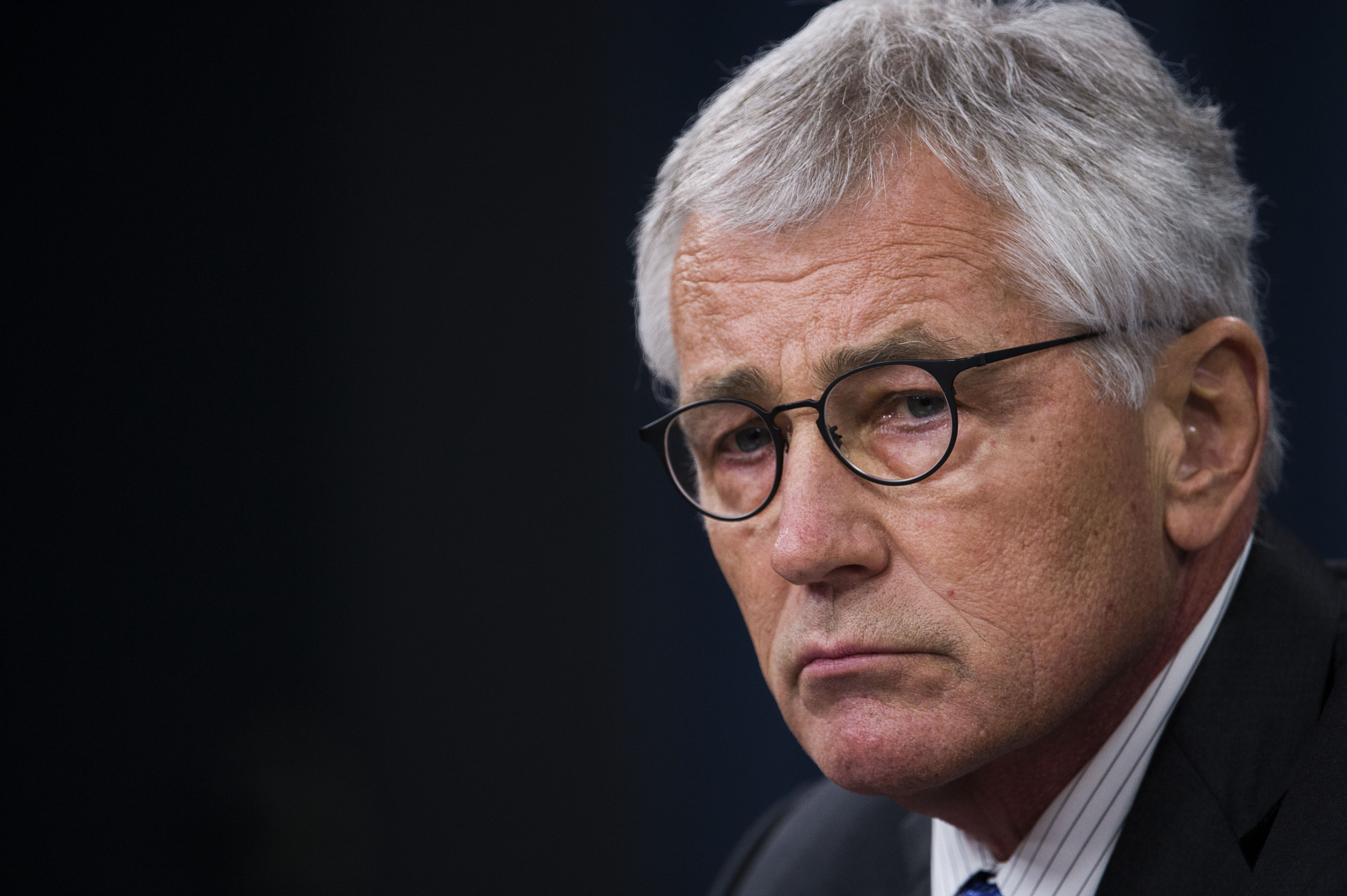 Defense Secretary Chuck Hagel said Thursday that internal Administration debate over what to do in Syria must be  honest  and  direct.