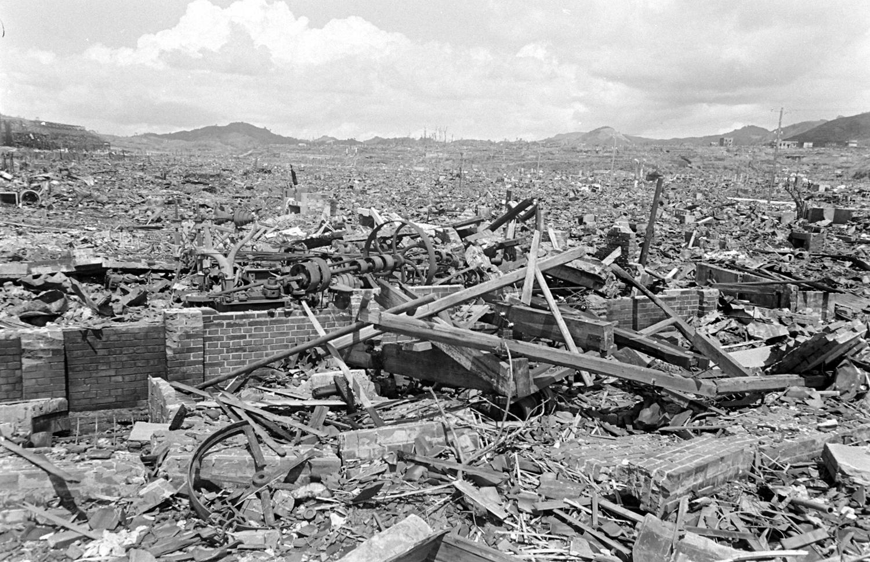 <b>Not published in LIFE.</b> Nagasaki, Japan, September 1945.