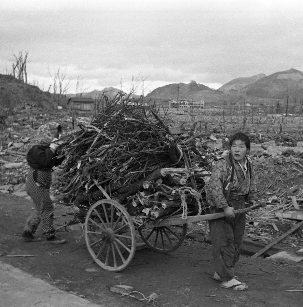 Not published in LIFE. Nagasaki, 1945, a few months after an American B-29 dropped an atomic bomb, codenamed  Fat Man,  on the city.