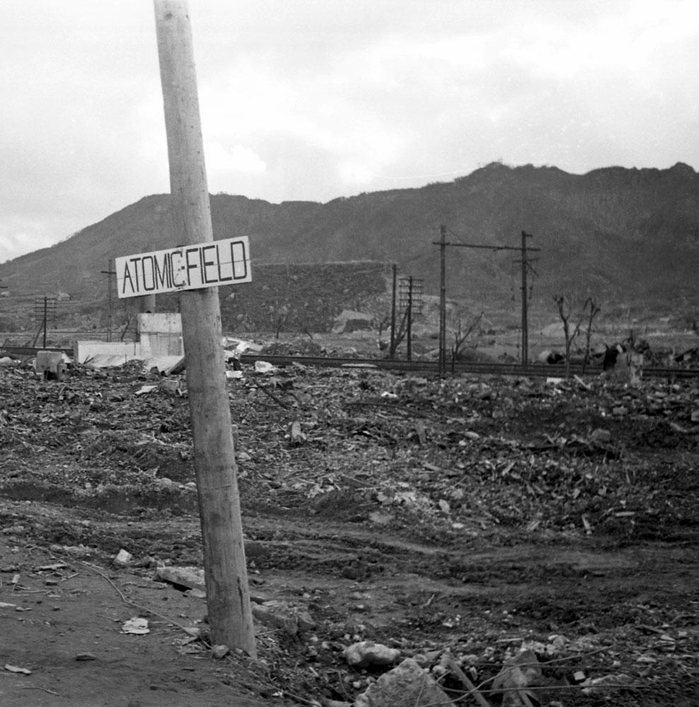 <b>Not published in LIFE.</b> Nagasaki, 1945.