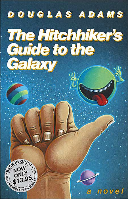 The Hitchhiker's Guide to the Galaxy was published Oct. 12, 1979