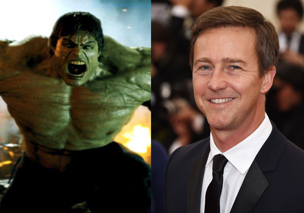 It took Edward Norton's 2008 The Incredible Hulk for studios to realize the green monster can't support a movie on his own. Luckily, Norton has been able to bounce back in Wes Anderson pics like The Grand Budapest Hotel.