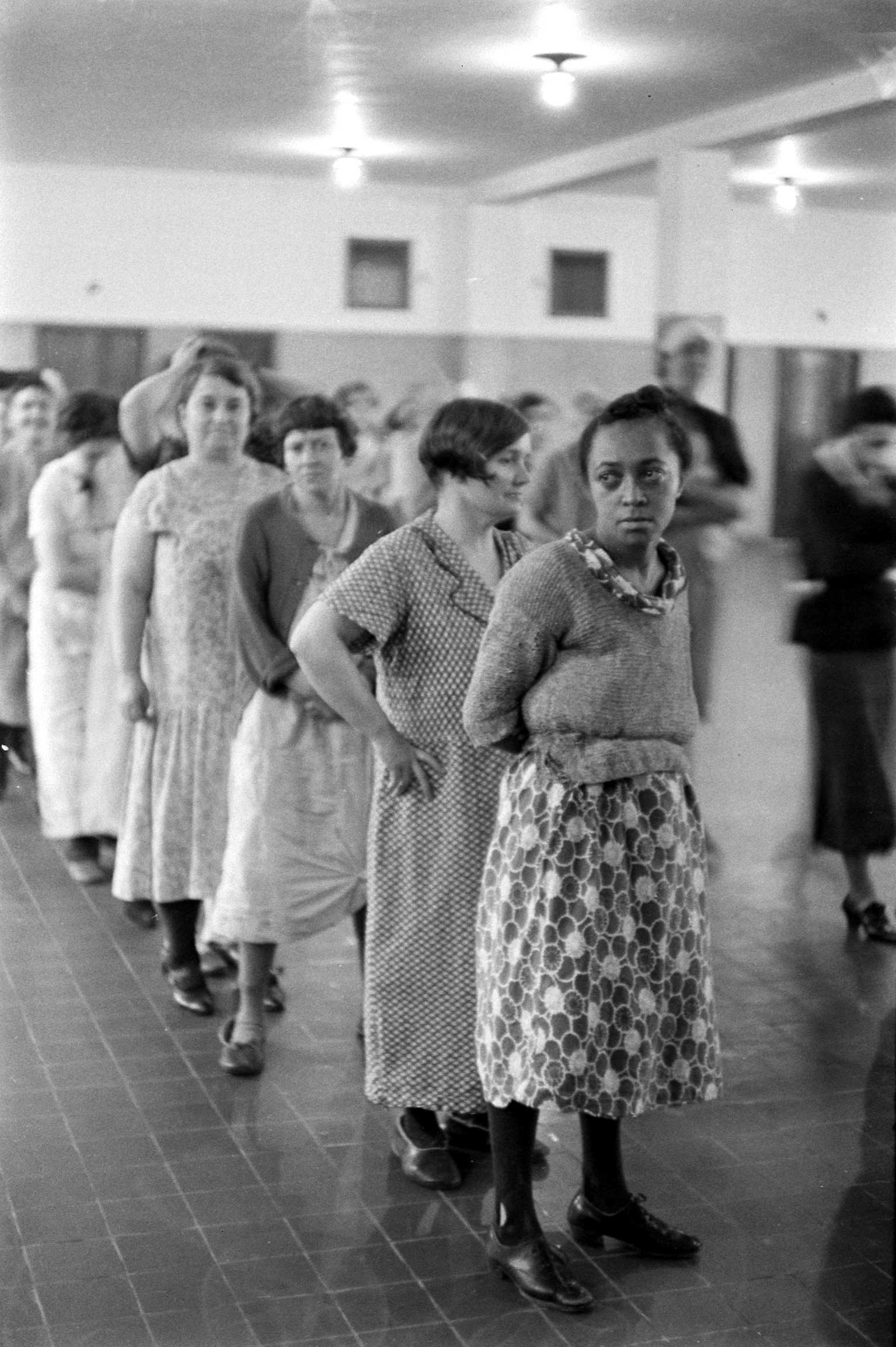 <b>Not published in LIFE.</b> Pilgrim State Hospital, Brentwood, NY, 1938.
