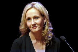 Author J.K. Rowling attends a photocall ahead of her reading from 'The Casual Vacancy' at the Queen Elizabeth Hall on Sept. 27, 2012 in London.