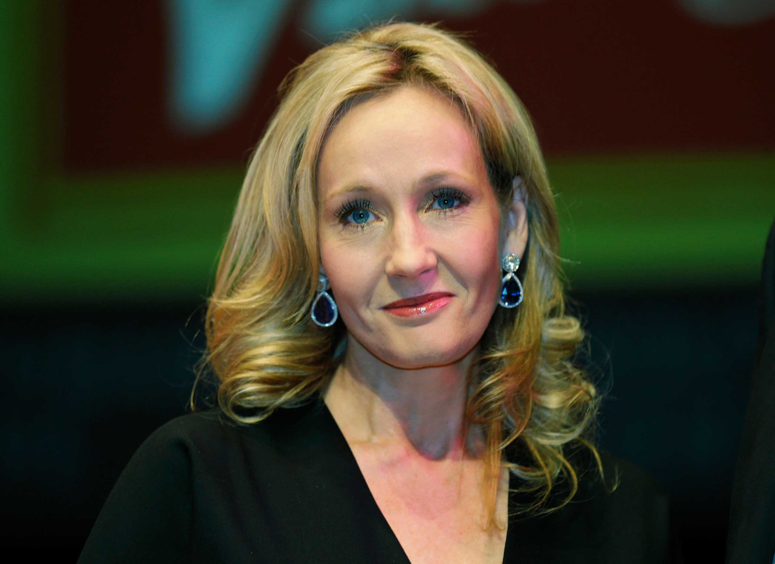 J.K. Rowling at the Southbank Centre in London in 2012.
