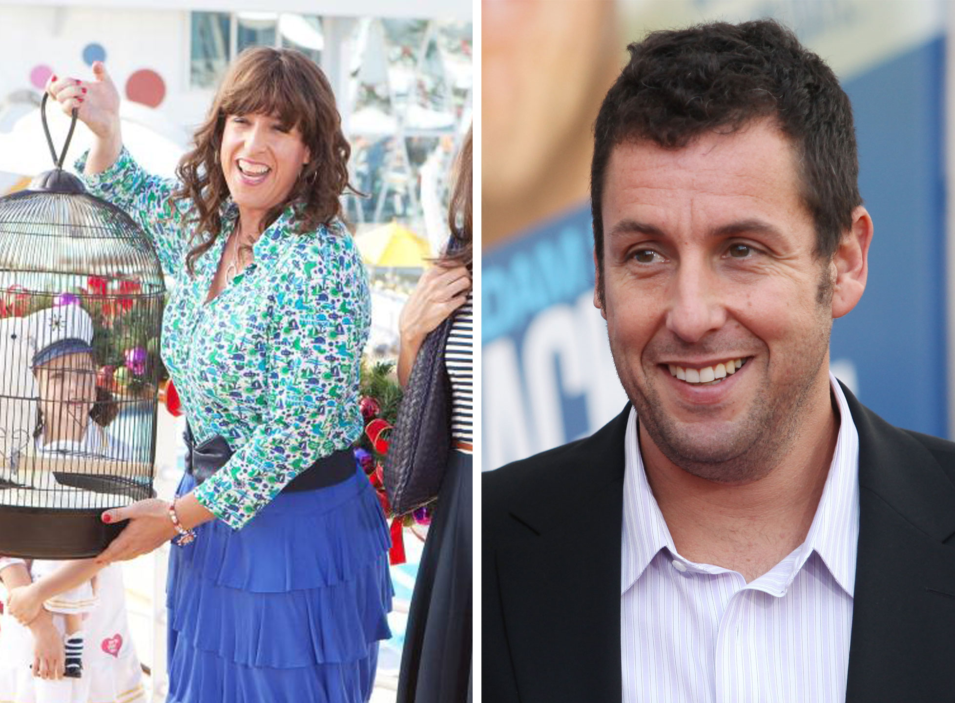 Adam Sandler as Jill Sadelstein in Jack and Jill