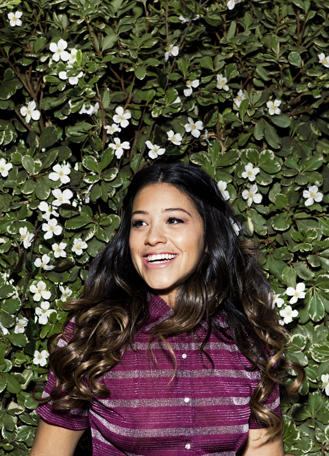 Gina Rodriguez, photographed in Los Angeles on October 3, 2014.
