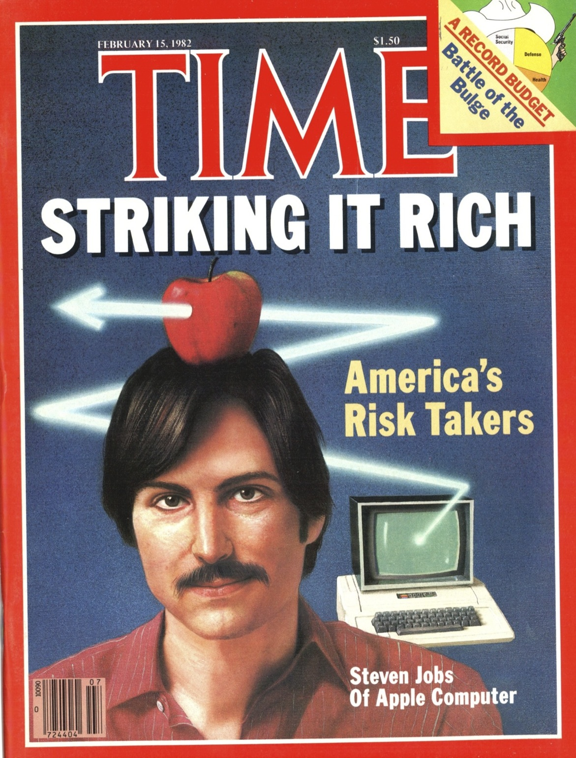 The Feb. 15, 1982, cover of TIME