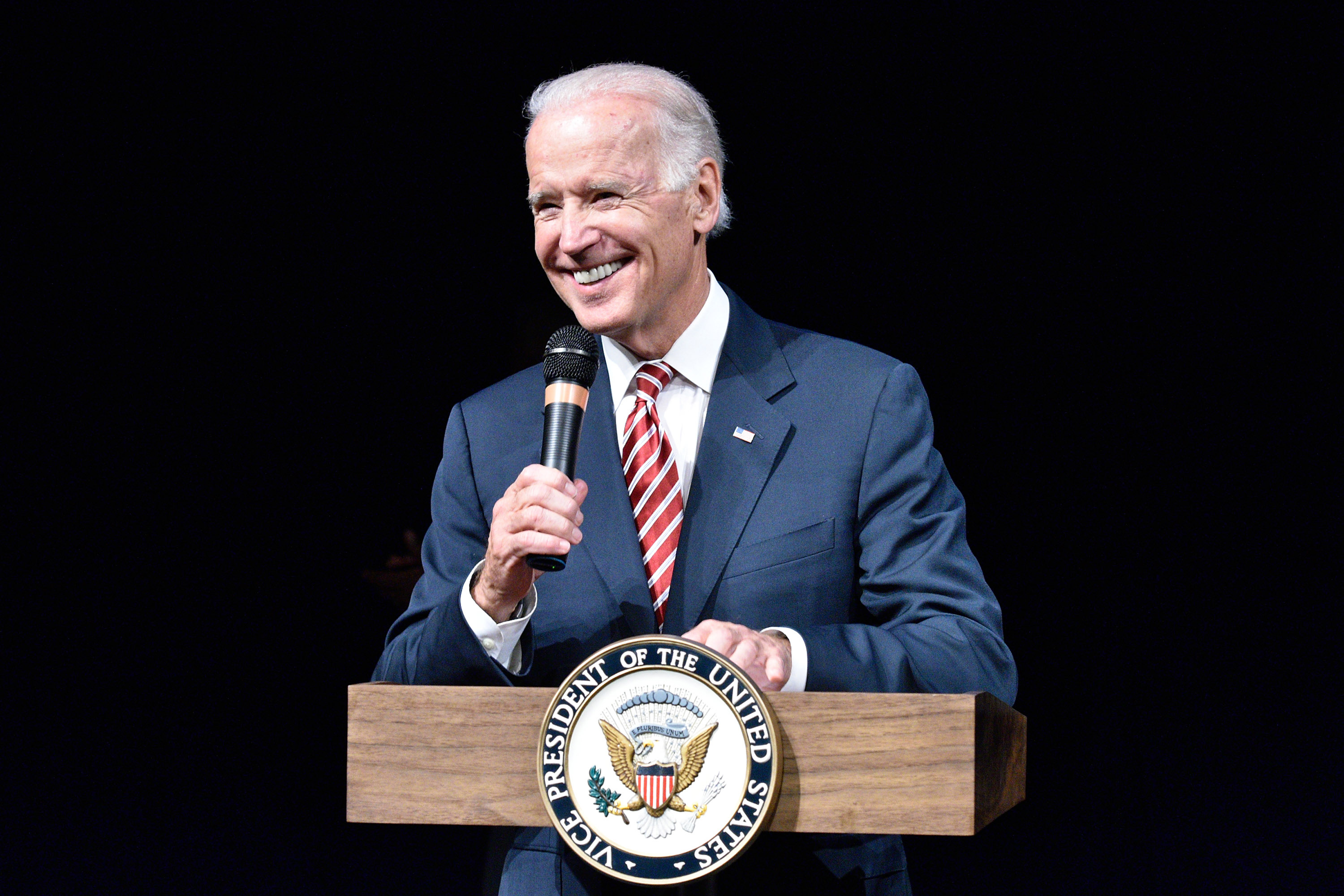 Vice President Joe Biden speaks at the CBC Spouses 17th Annual Celebration of Leadership in Fine Arts at the Nuseum Museum on September 24, 2014 in Washington, D.C.