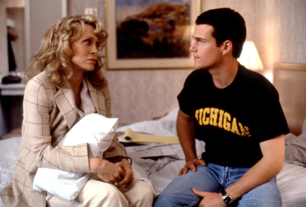The Chamber, 1996 From Left: Faye Dunaway  as Lee Cayhall Bowen and Chris O'Donnell as Adam Hall