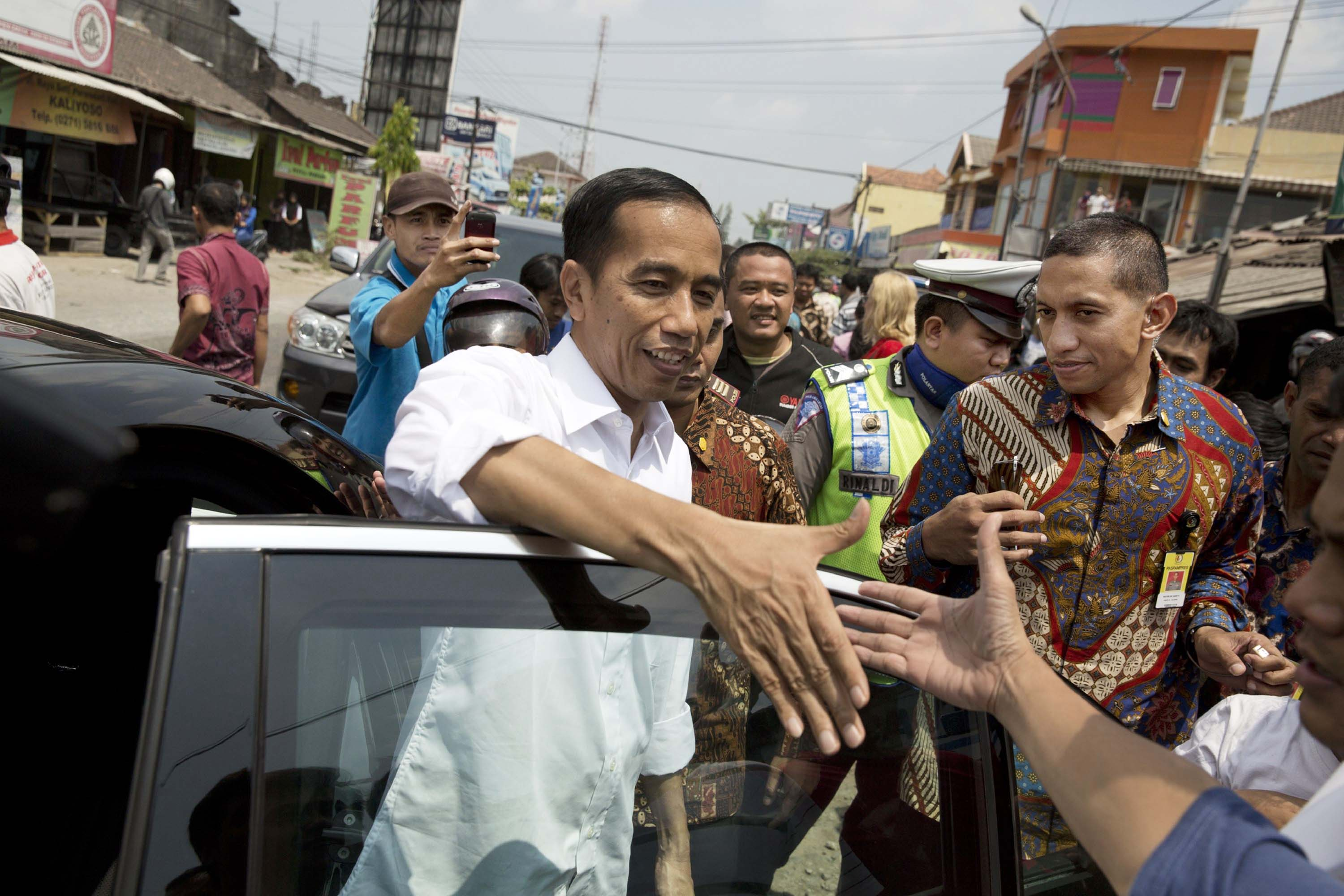 Because of Jokowi's humble roots, many expect him to understand the problems of ordinary citizens
