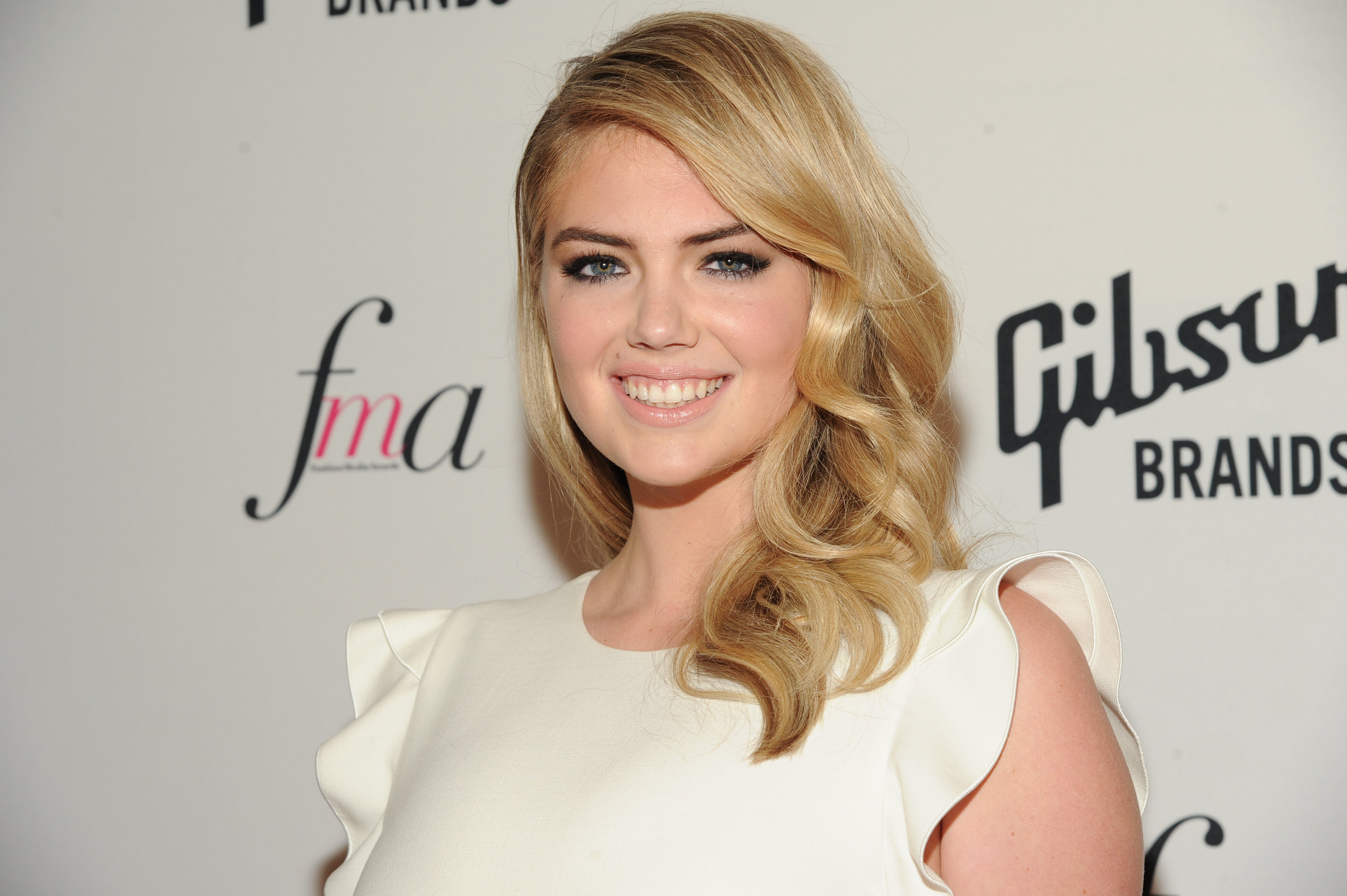 Model Kate Upton attends The Daily Front Row Second Annual Fashion Media Awards at Park Hyatt New York on September 5, 2014 in New York City.