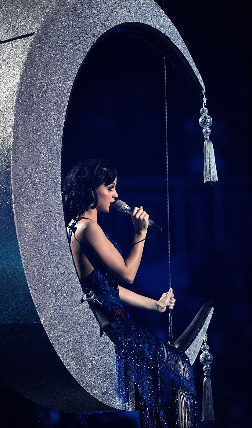 Katy Perry presents the MTV Europe Music Awards at the O2 World in Berlin, Germany, November 5, 2009.