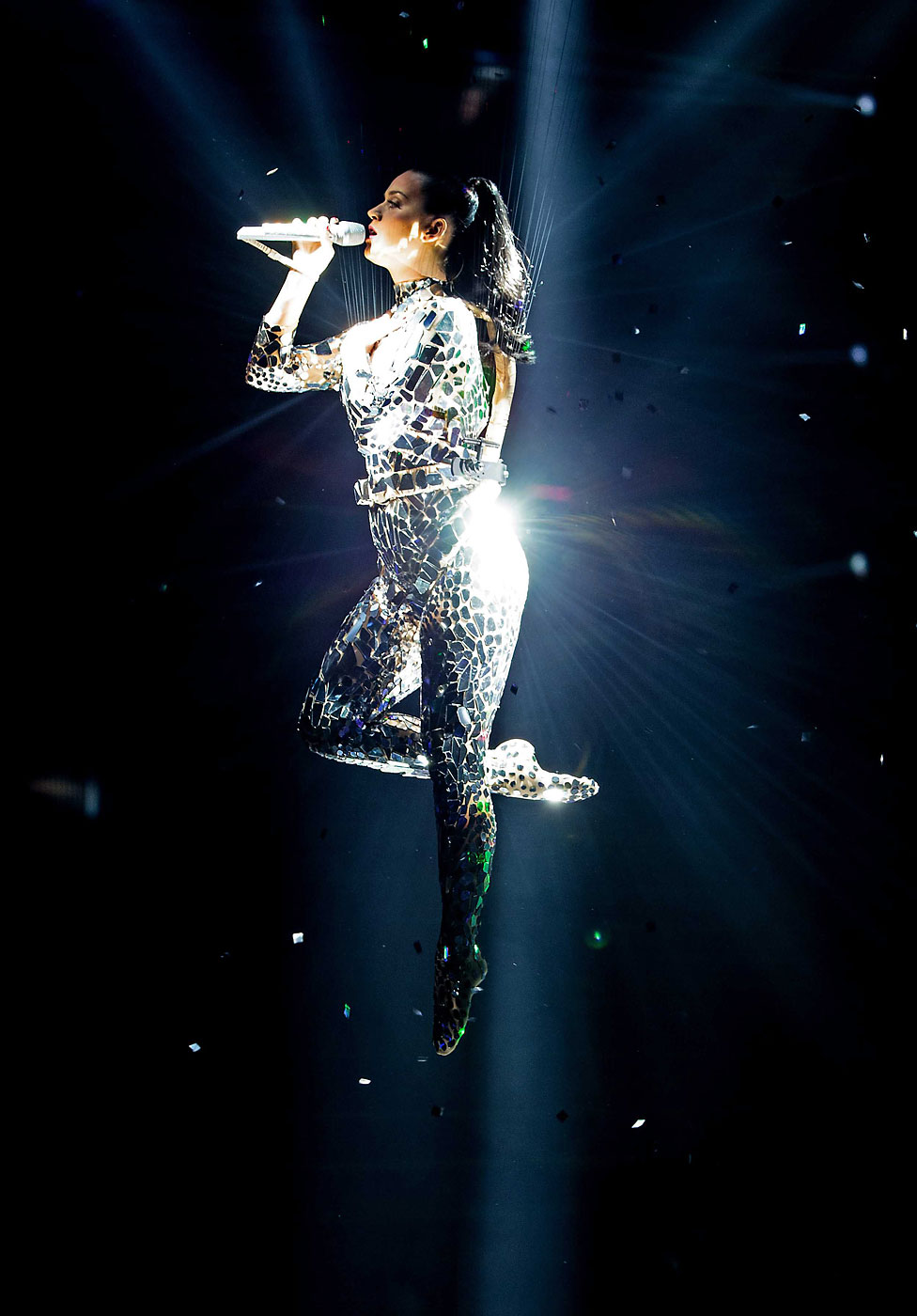 Katy Perry performs at the 2013 MTV Europe Music Awards held at the Ziggo Dome in Amsterdam, The Netherlands, November 10, 2013.