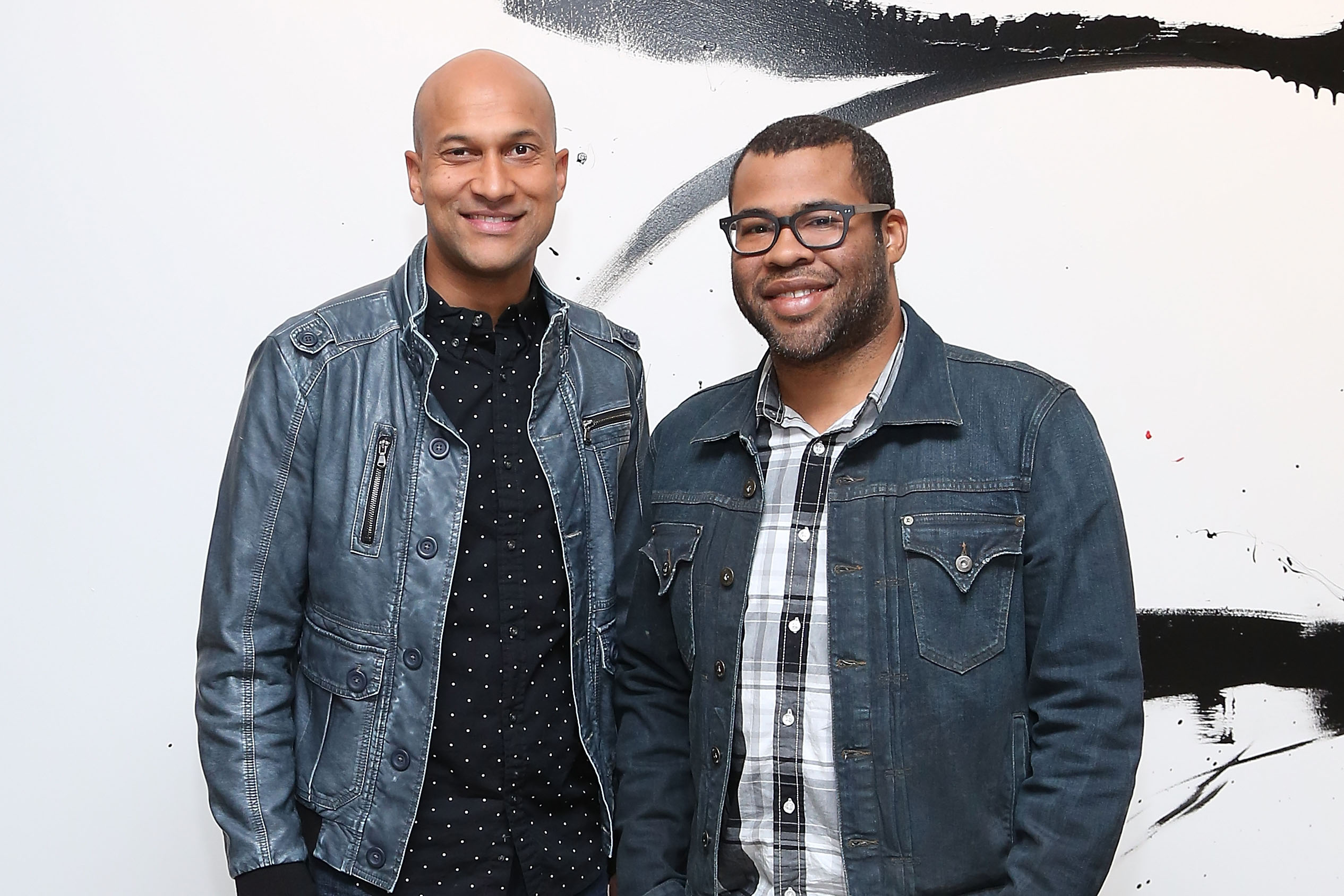 The comedic duo Key & Peele pose for a portrait at AOL Studios in New York City on Oct. 10, 2014