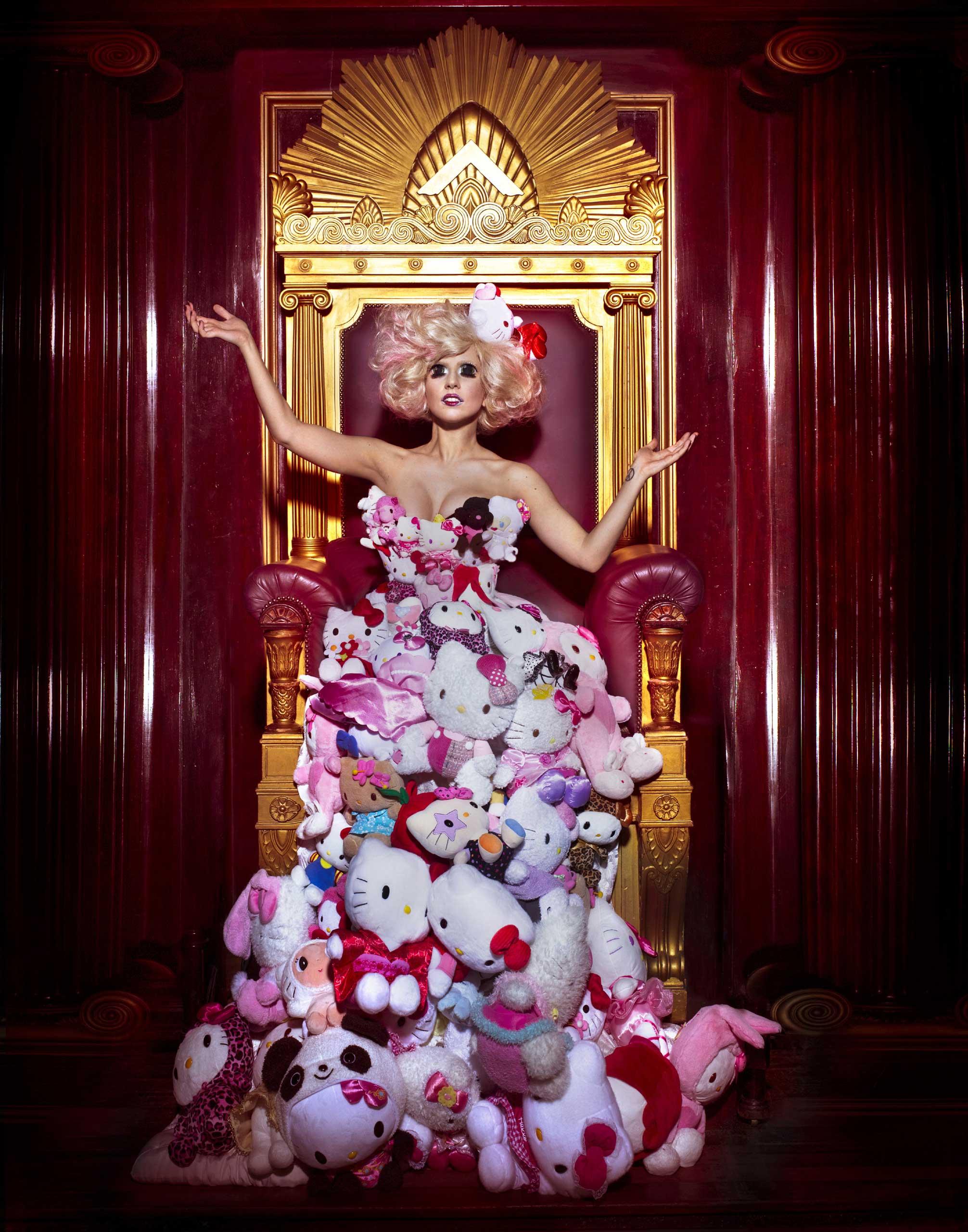 Hello Kitty Lady Gaga dress
