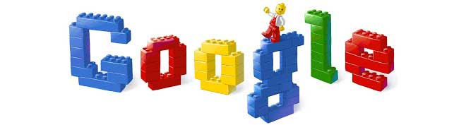 <strong>Jan. 28, 2008</strong> Early on, Google used Lego blocks as casing for hard disks. Later it feted Lego's 50th anniversary.
