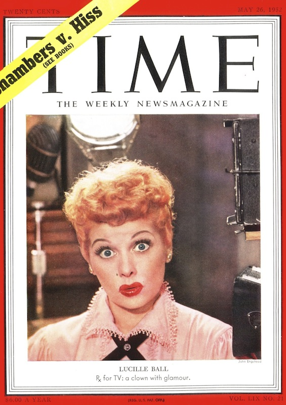 The May 26, 1952, cover of TIME