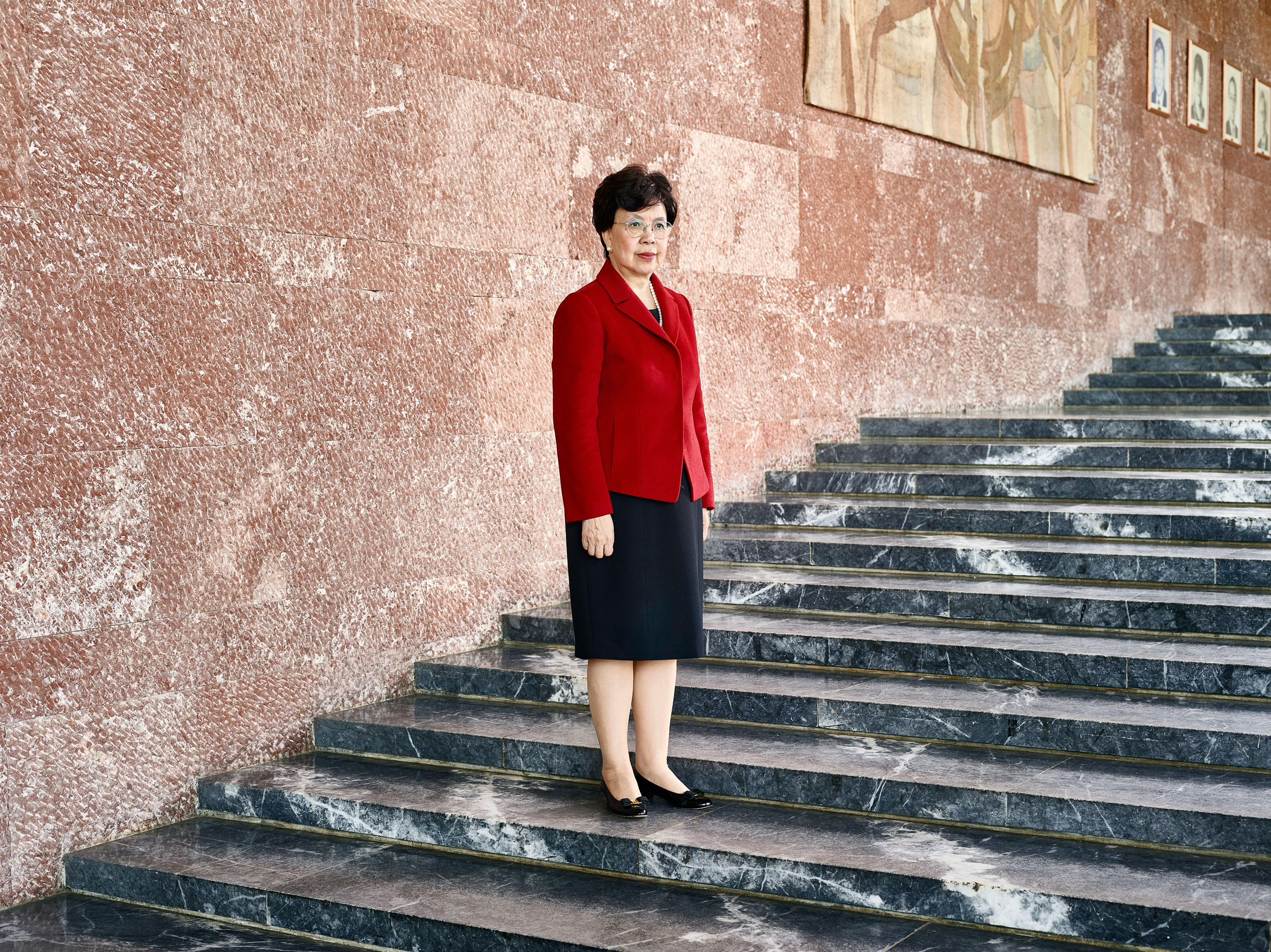 Margaret Chan, WHO director-general, at the organization's Geneva headquarters
