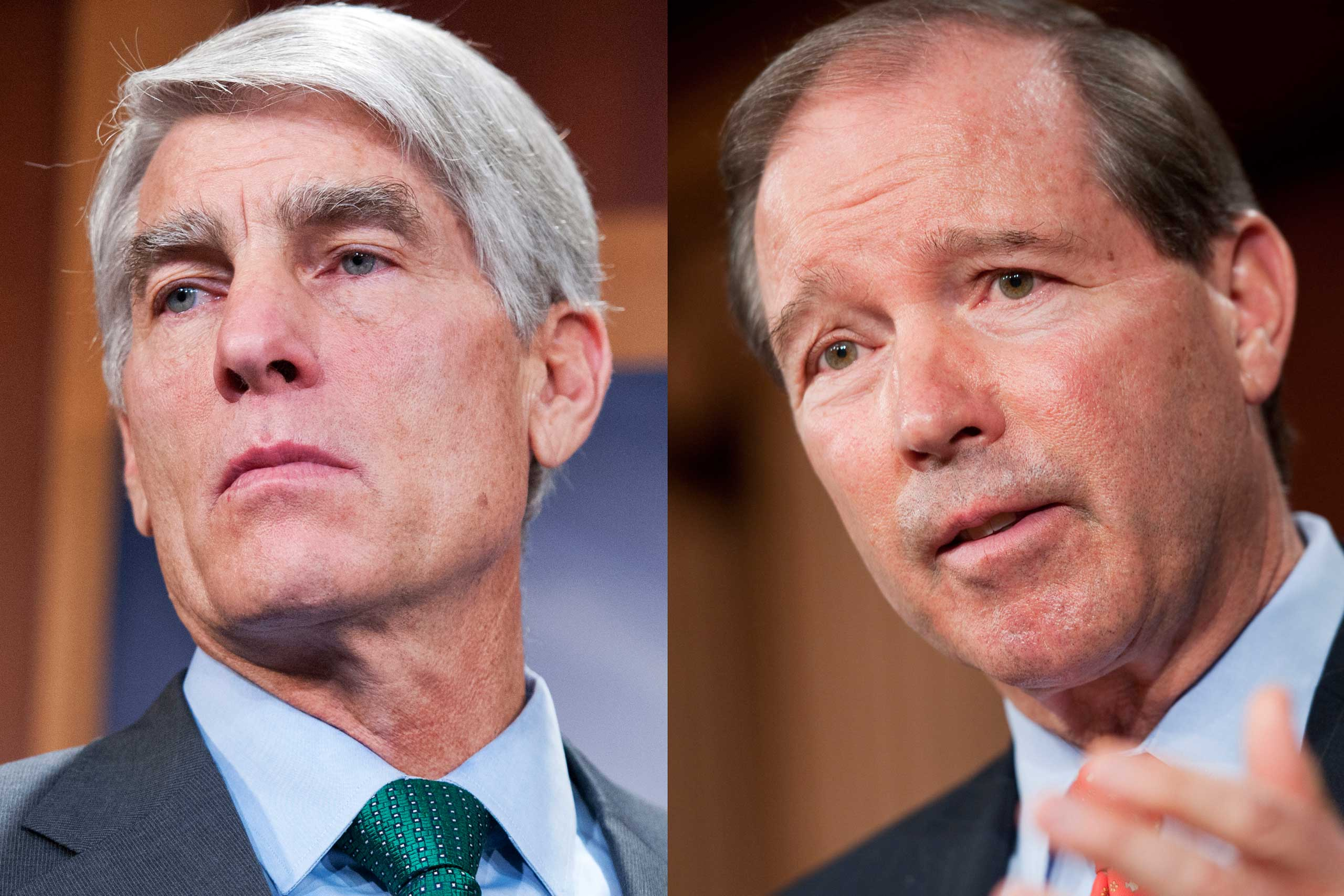 Descended from Mormon pioneers, the Udall family have held high political positions from states across the American West. To cite one of many examples, Stewart Udall served as Secretary of the Department of Interior under President Lyndon Johnson. Today, his son Tom Udall (right) represents New Mexico in the U.S. Senate, and his nephew Mark Udall (left) represents Colorado in the same body.